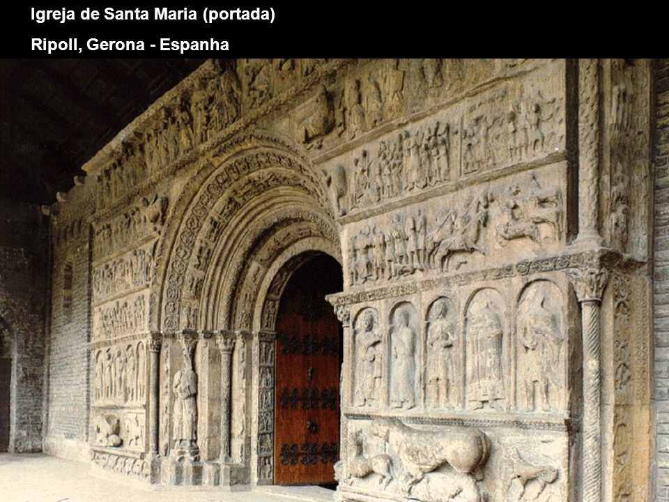 Igreja de Santa Maria (portada)