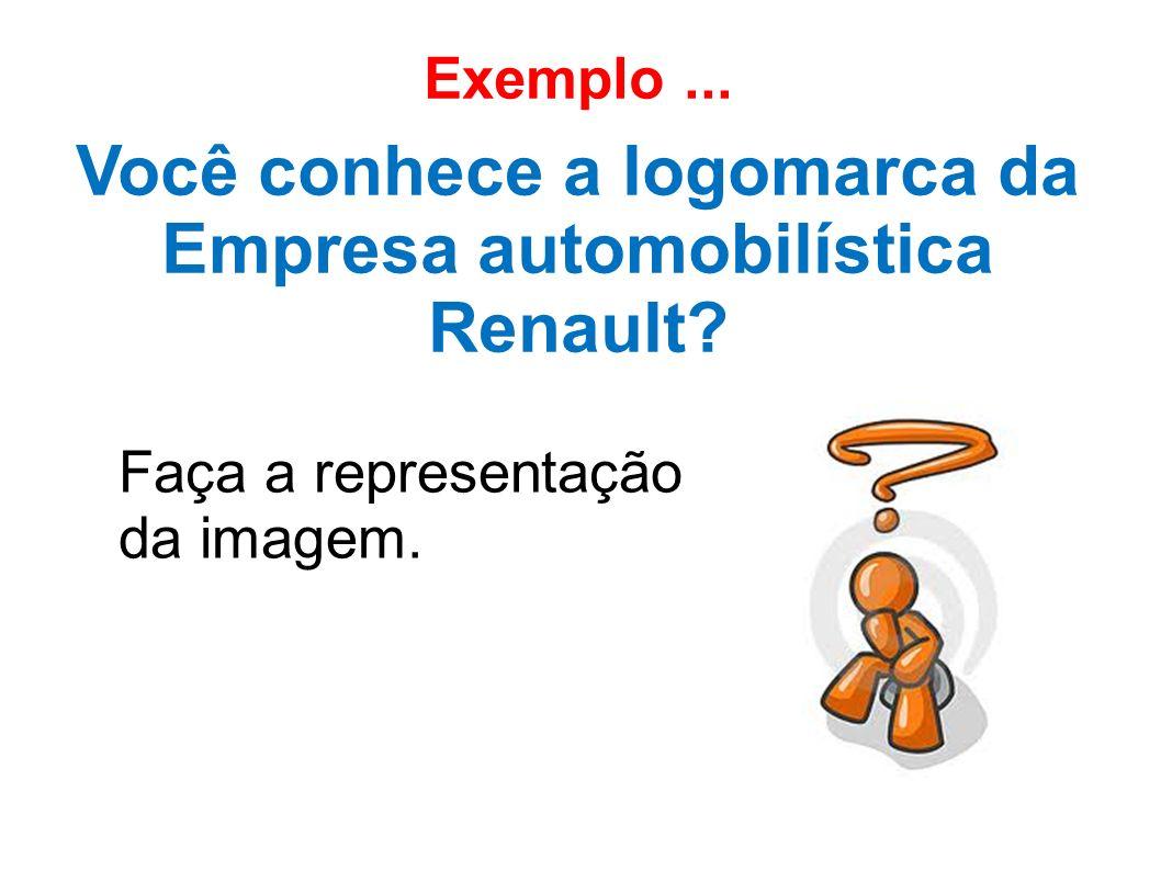 Você conhece a logomarca da Empresa automobilística Renault