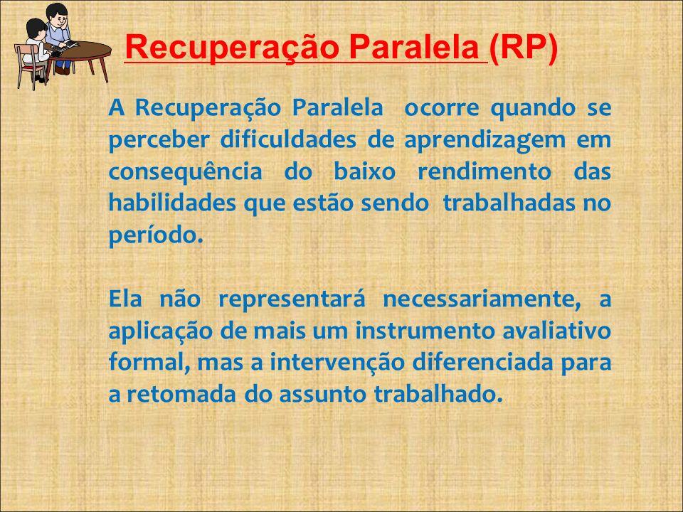 Recuperação Paralela (RP)