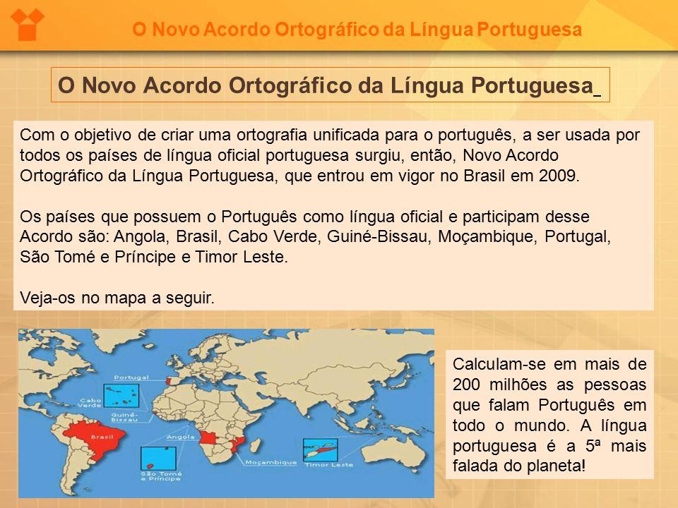 acordo ortográfico da lingua portuguesa