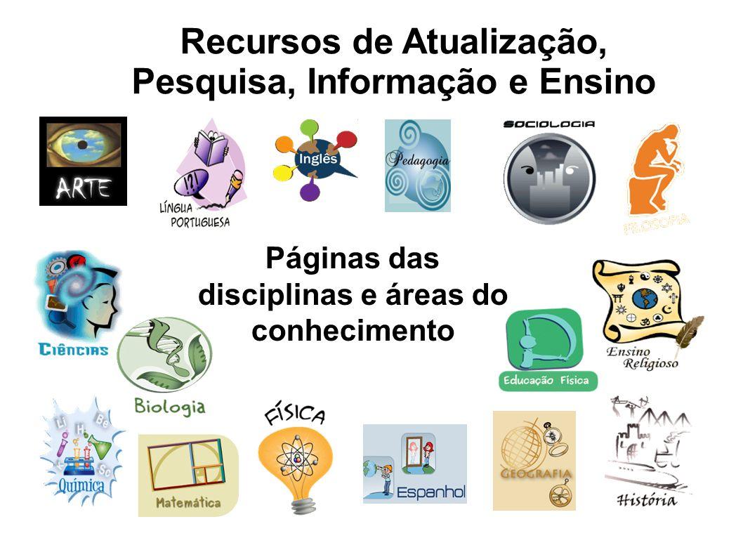 Recursos de Atualização, Pesquisa, Informação e Ensino