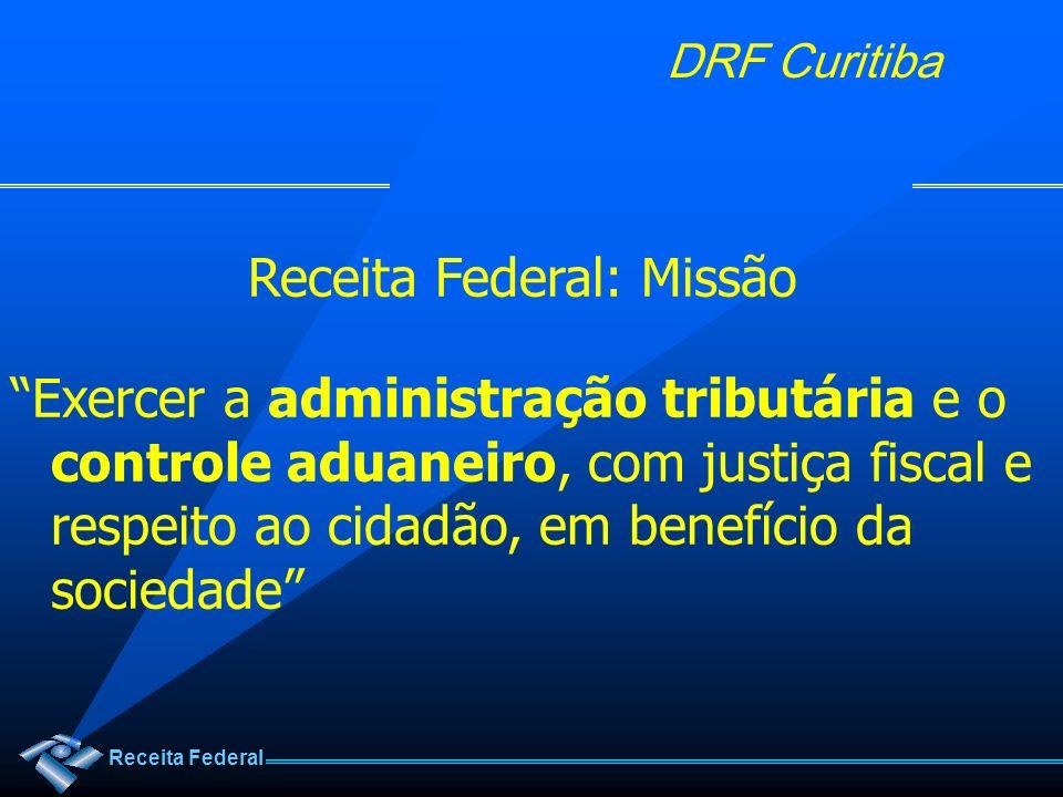 Receita Federal: Missão