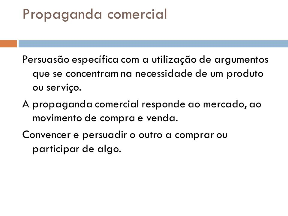 Propaganda comercial