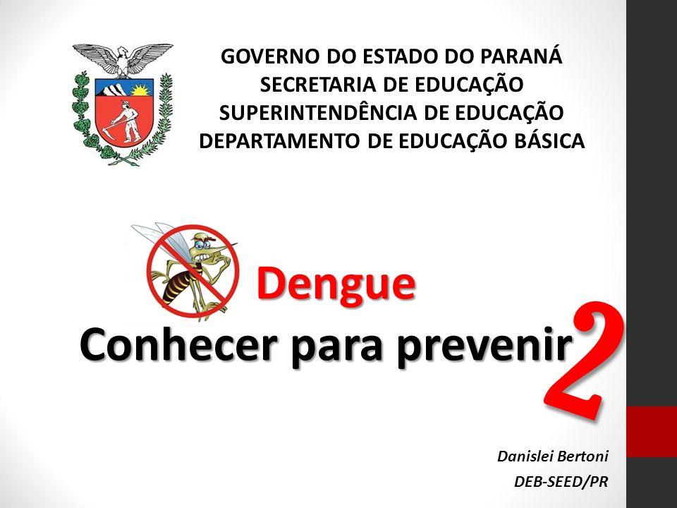 2 Dengue Conhecer para prevenir