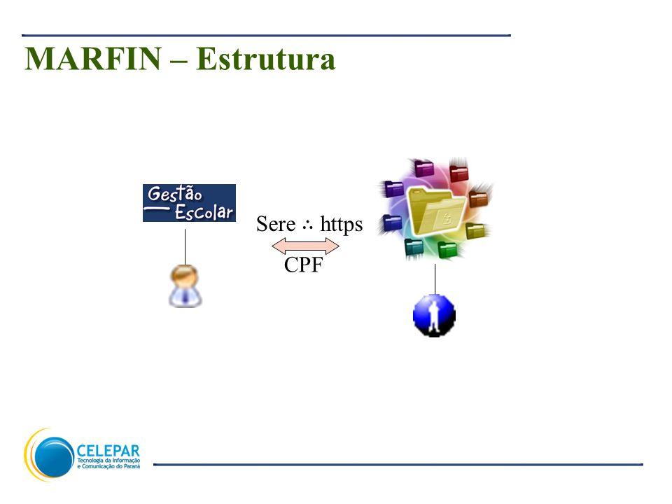 MARFIN – Estrutura Sere ∴ https CPF