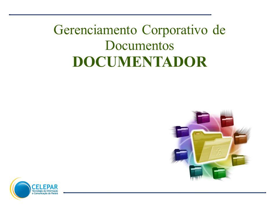 Gerenciamento Corporativo de Documentos DOCUMENTADOR