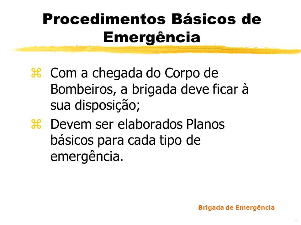 Procedimentos Básicos de Emergência