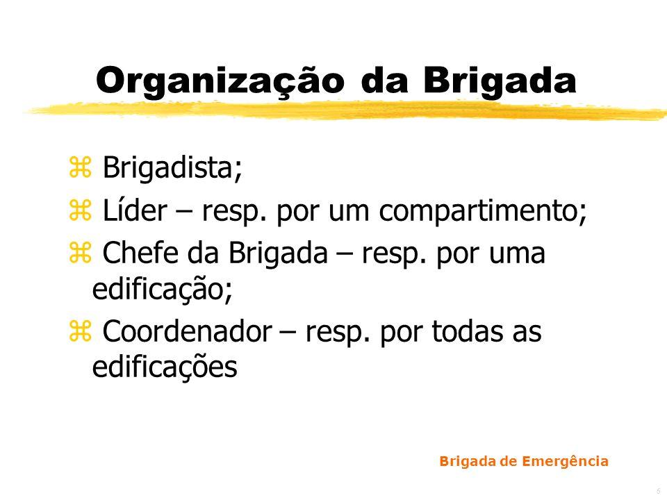 Organização da Brigada