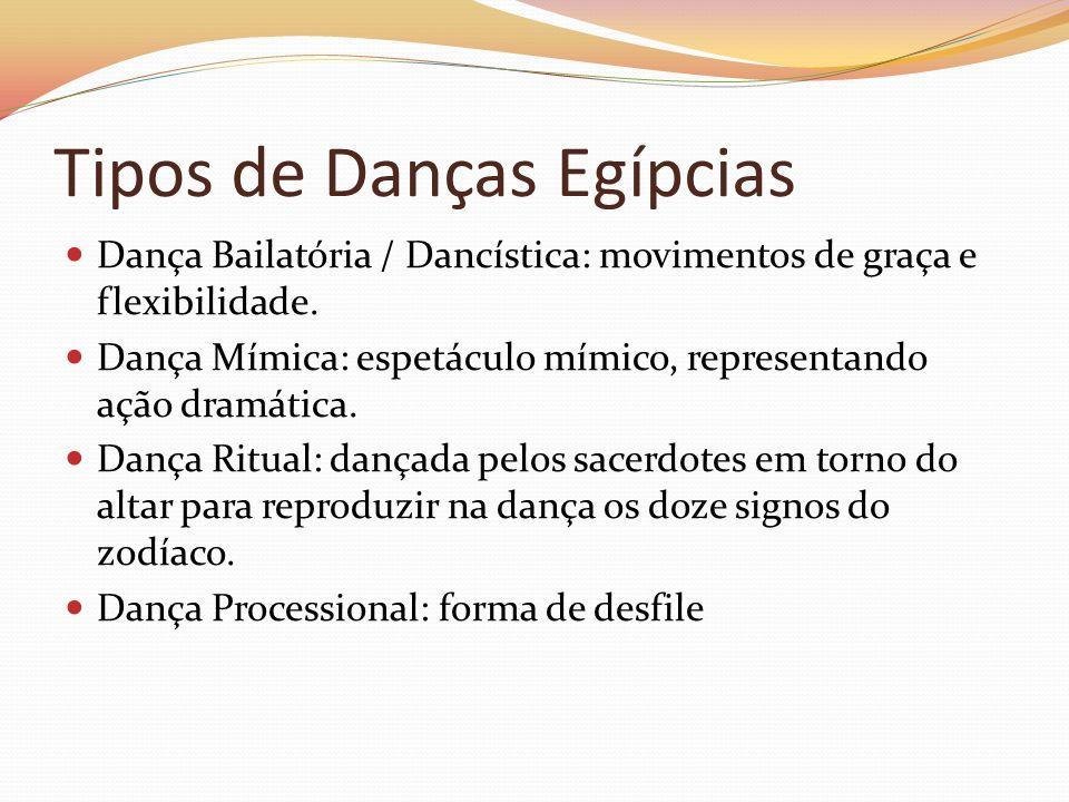 Tipos de Danças Egípcias