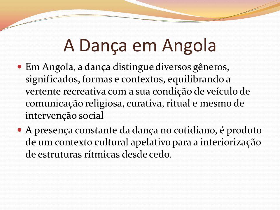 A Dança em Angola