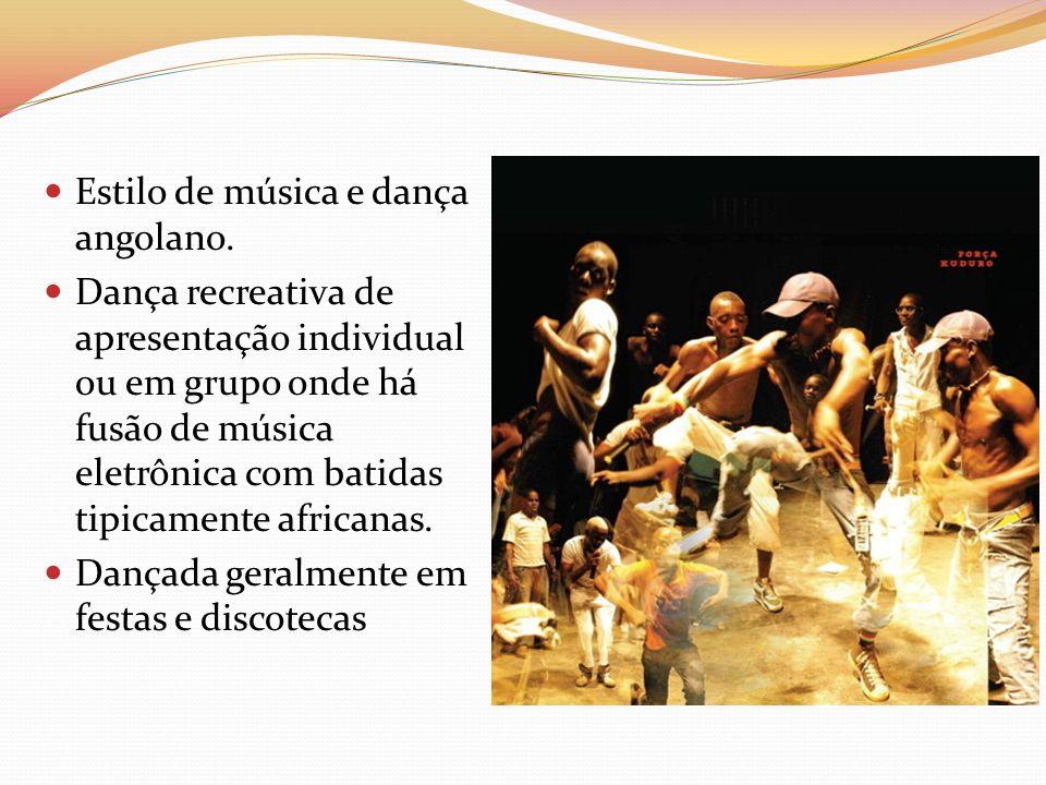Estilo de música e dança angolano.