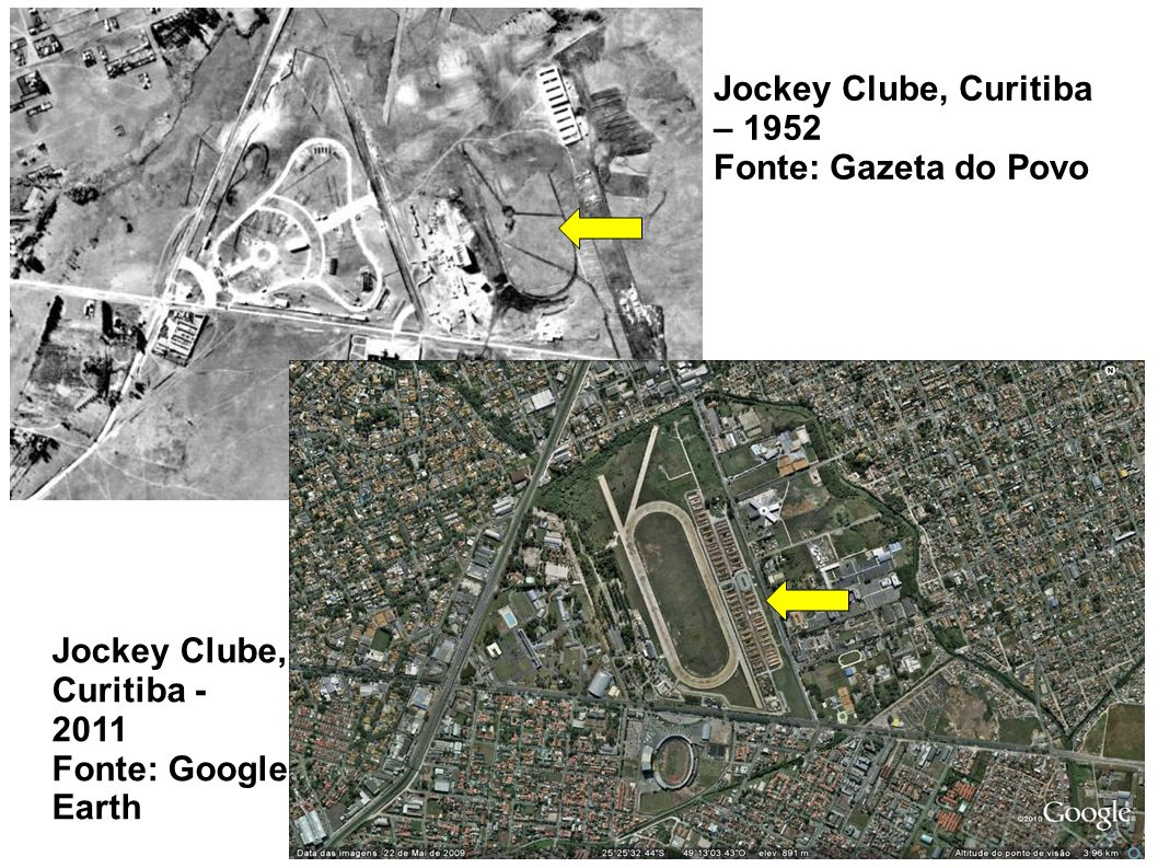 Jockey Clube, Curitiba – 1952 Fonte: Gazeta do Povo