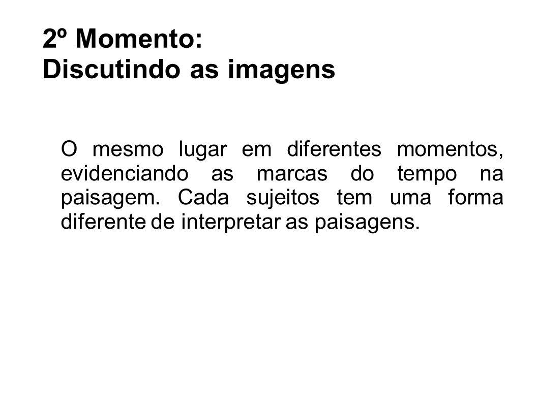 2º Momento: Discutindo as imagens