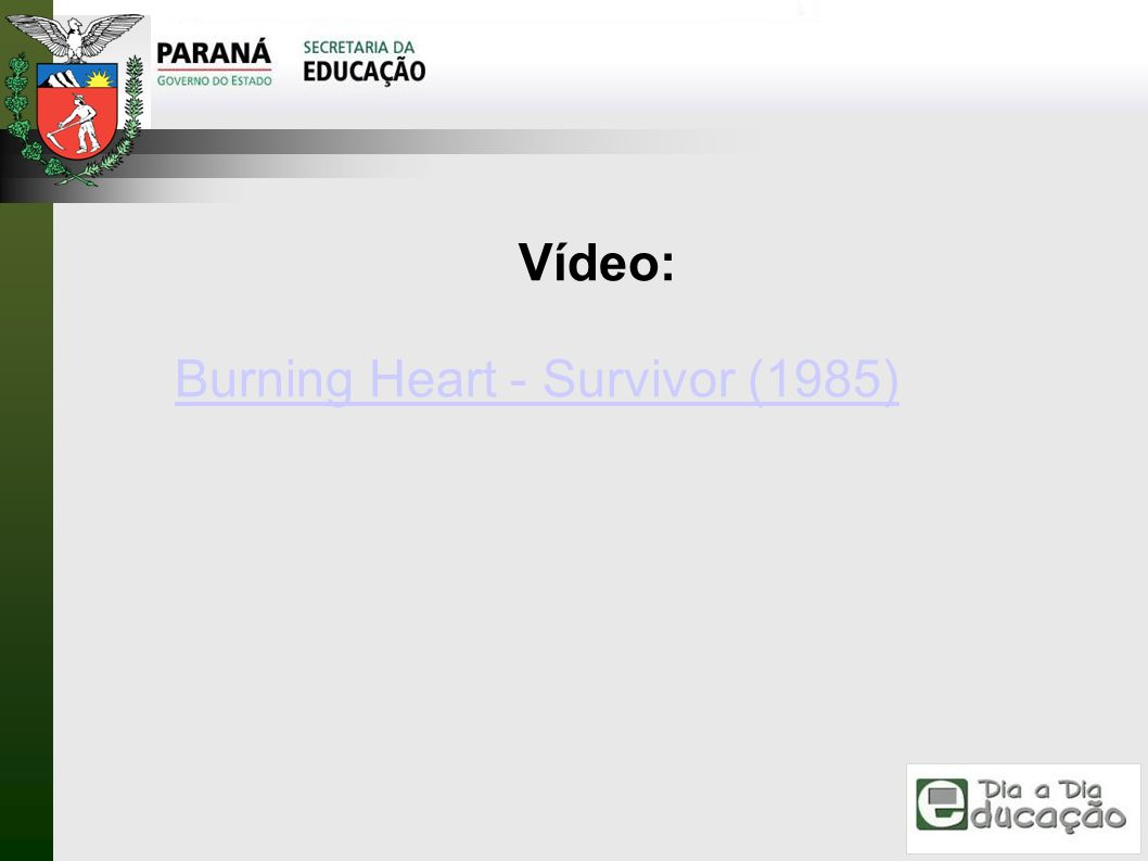 Vídeo: Burning Heart - Survivor (1985)