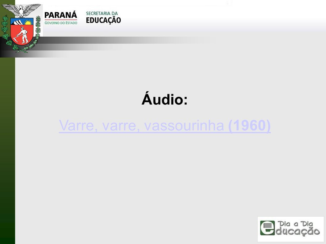 Varre, varre, vassourinha (1960)