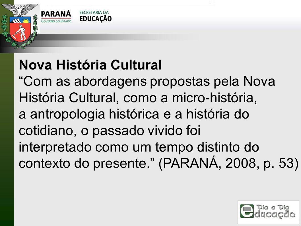Nova História Cultural