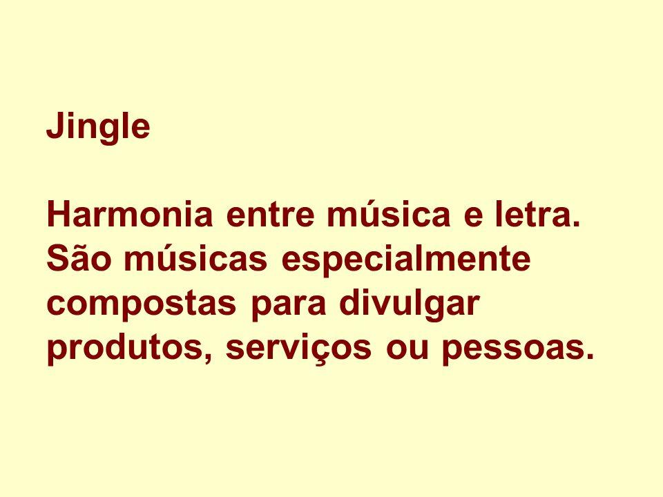 Jingle Harmonia entre música e letra