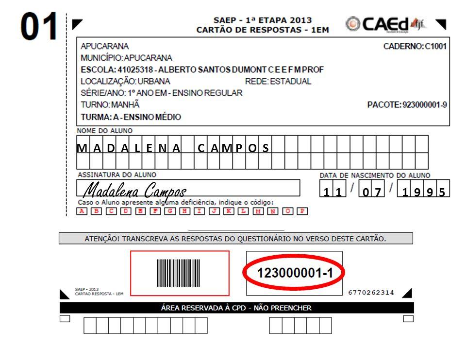 M A D A L E N A C A M P O S Madalena Campos 1 1 0 7 1 9 9 5