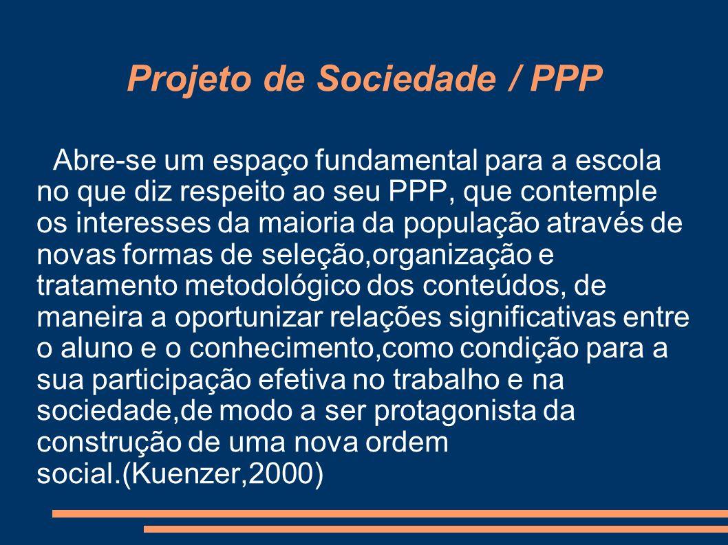 Projeto de Sociedade / PPP