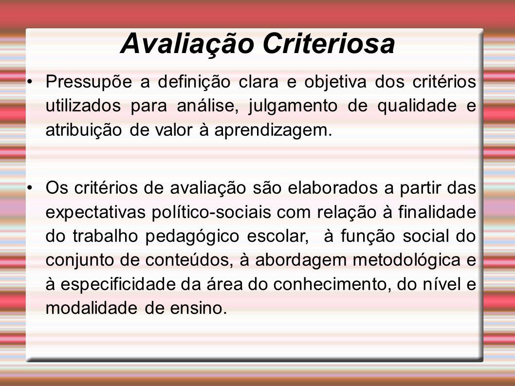 Avaliação Criteriosa