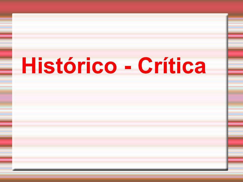 Histórico - Crítica