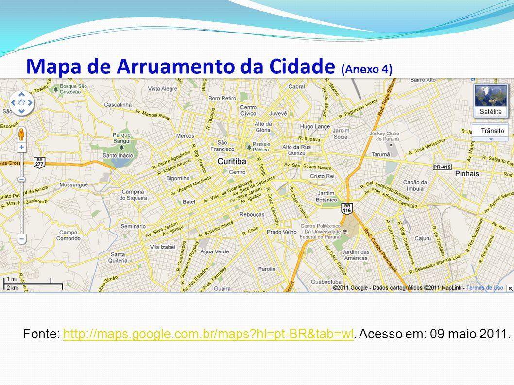 Mapa de Arruamento da Cidade (Anexo 4)