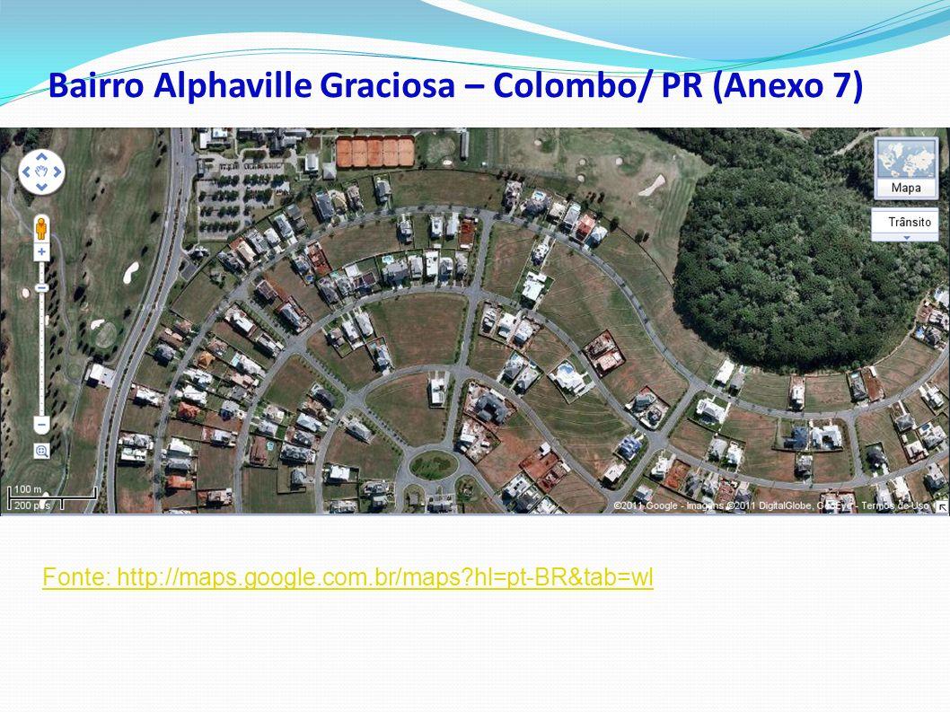 Bairro Alphaville Graciosa – Colombo/ PR (Anexo 7)