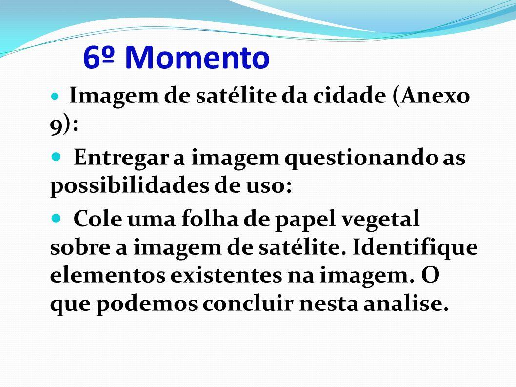 6º Momento Entregar a imagem questionando as possibilidades de uso: