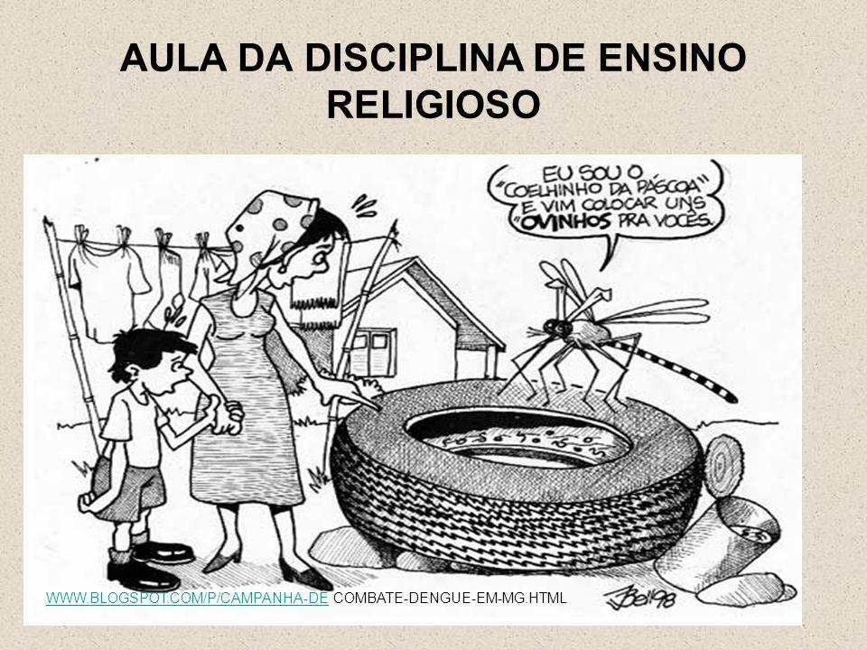AULA DA DISCIPLINA DE ENSINO RELIGIOSO