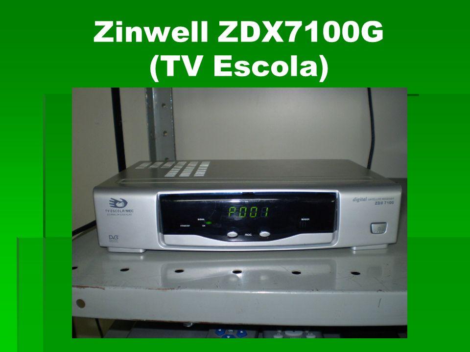 Zinwell ZDX7100G (TV Escola)