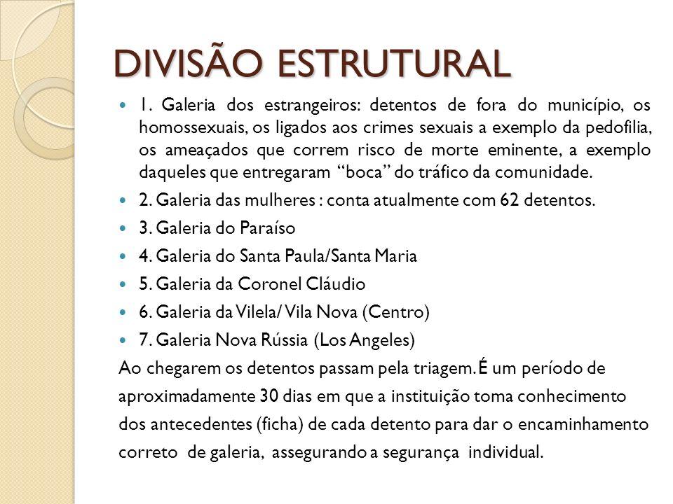 DIVISÃO ESTRUTURAL