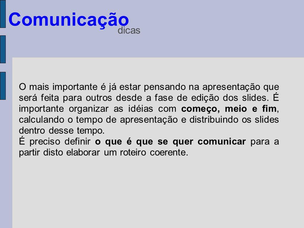 Comunicaçãodicas.