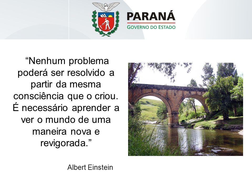 Nenhum problema poderá ser resolvido a partir da mesma consciência que o criou.