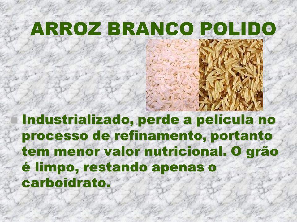 ARROZ BRANCO POLIDO