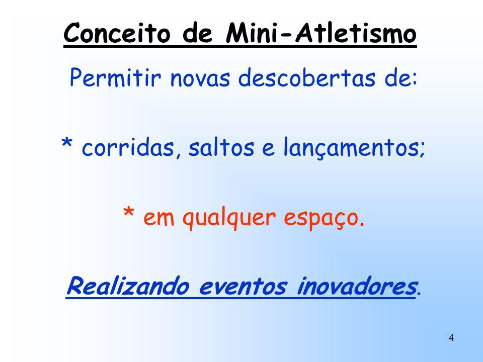 Conceito de Mini-Atletismo