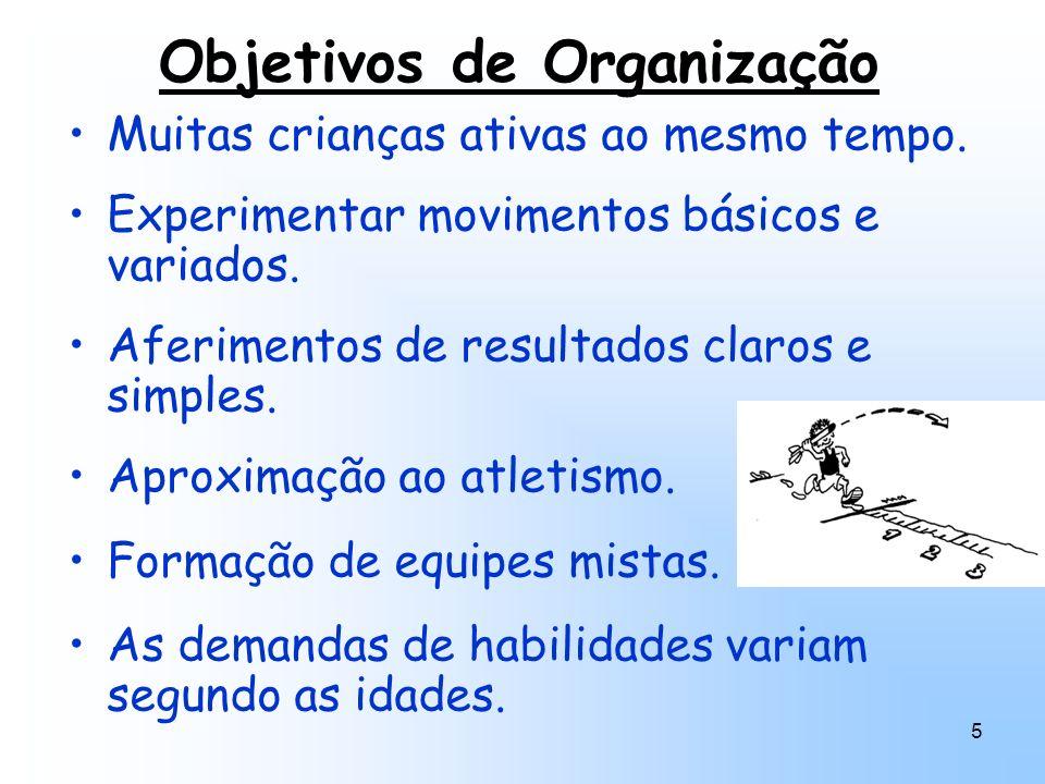 Objetivos de Organização