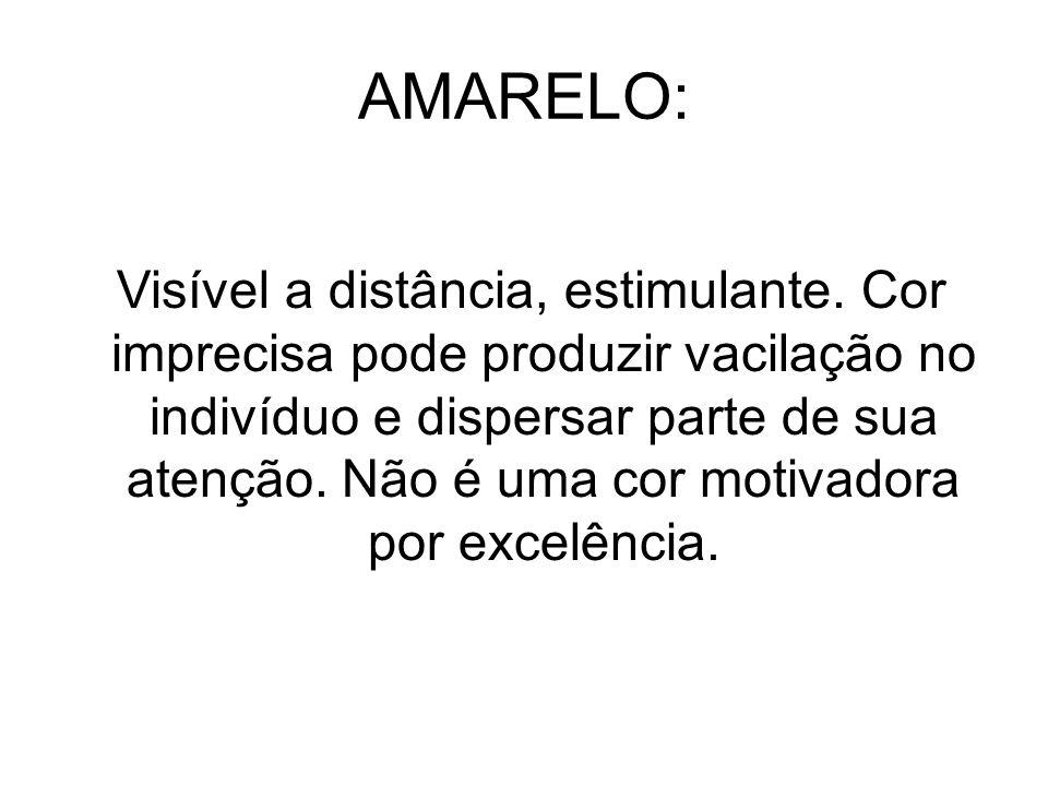 AMARELO: