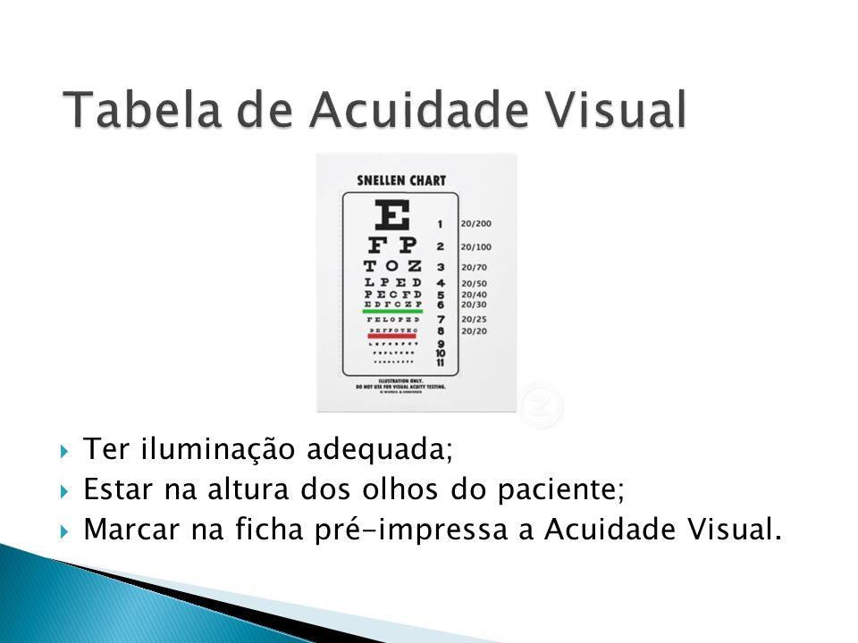 Tabela de Acuidade Visual