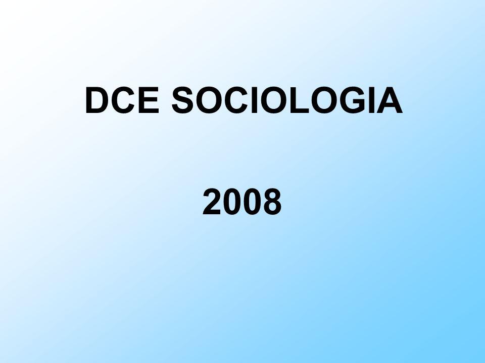 DCE SOCIOLOGIA 2008