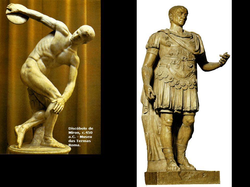 Discóbolo de Miron, c.450 a.C. - Museu das Termas Roma.