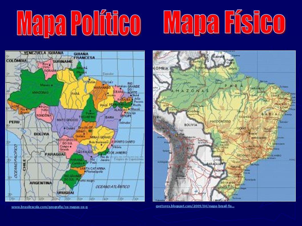 Mapa Político Mapa Físico