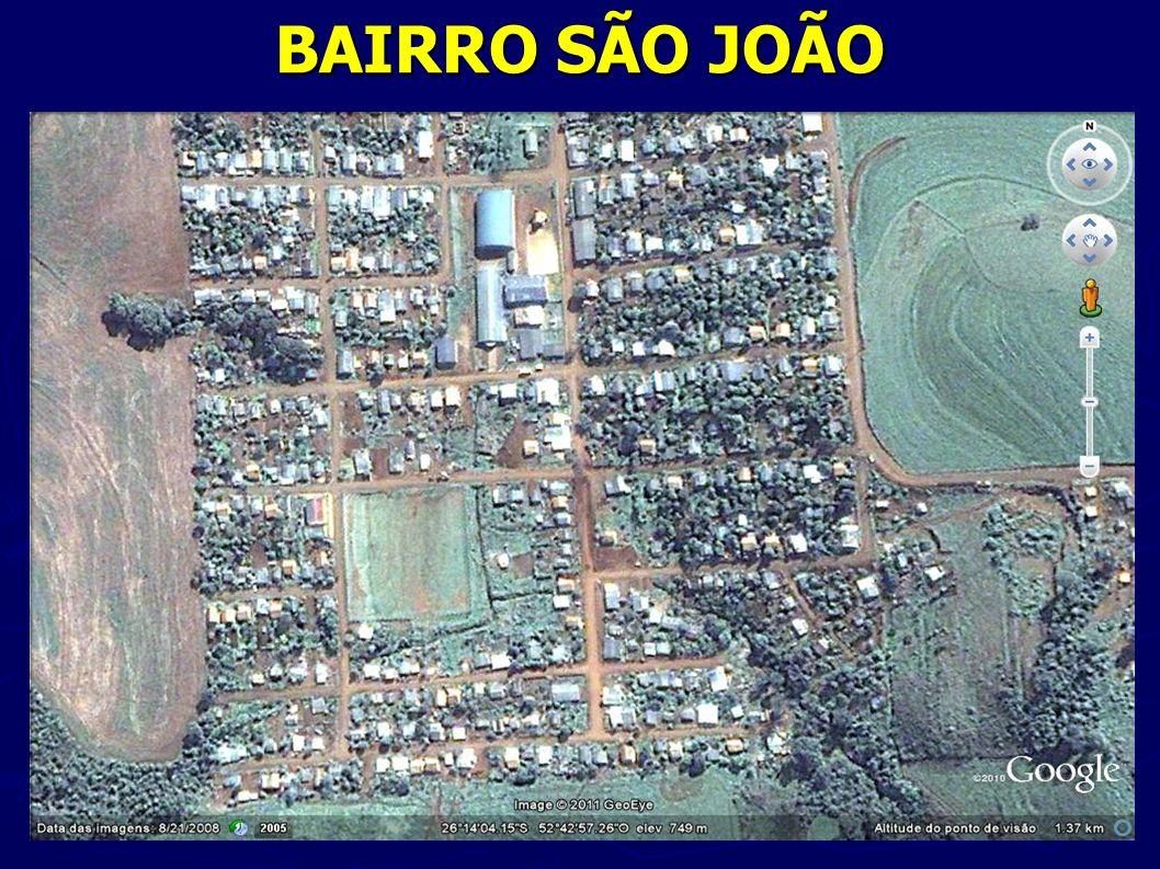 BAIRRO SÃO JOÃO Fonte: http://maps.google.com.br/maps hl=pt-BR&tab=wl