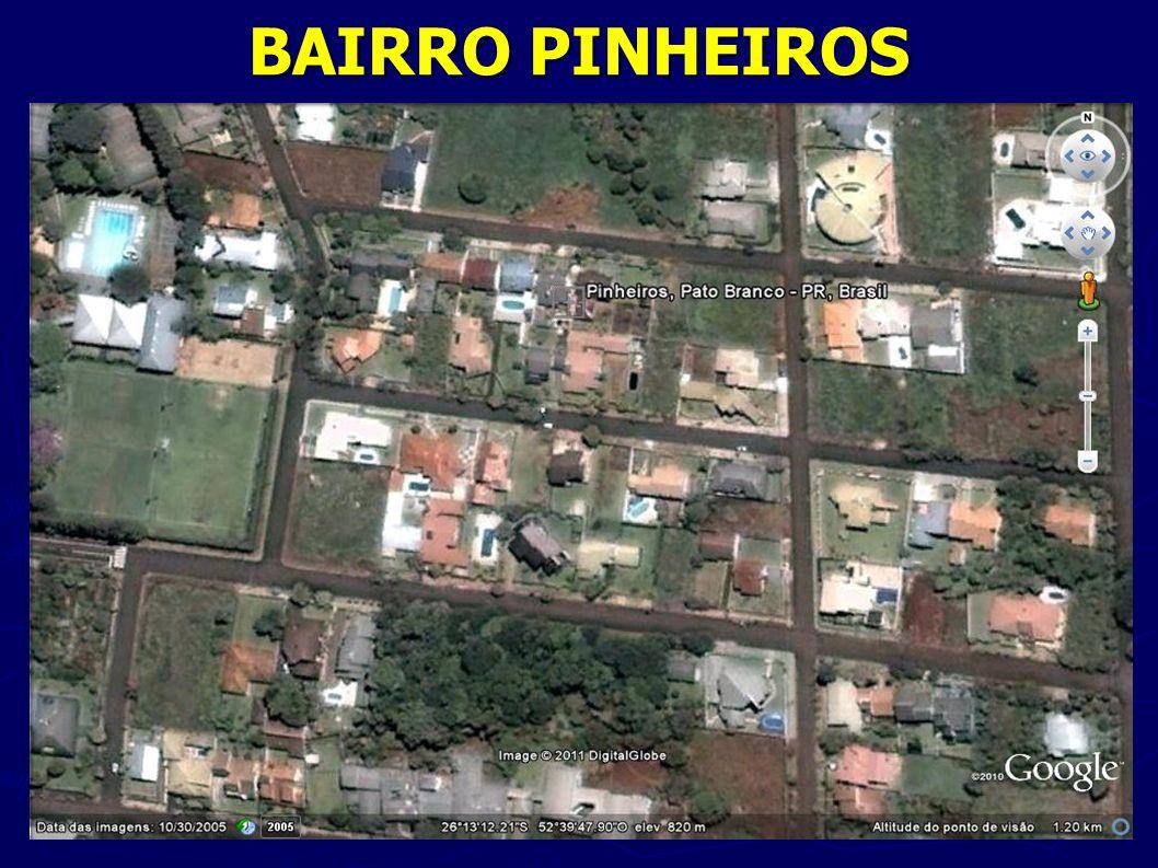 BAIRRO PINHEIROS Fonte: http://maps.google.com.br/maps hl=pt-BR&tab=wl