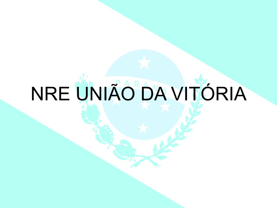NRE UNIÃO DA VITÓRIA 1 1