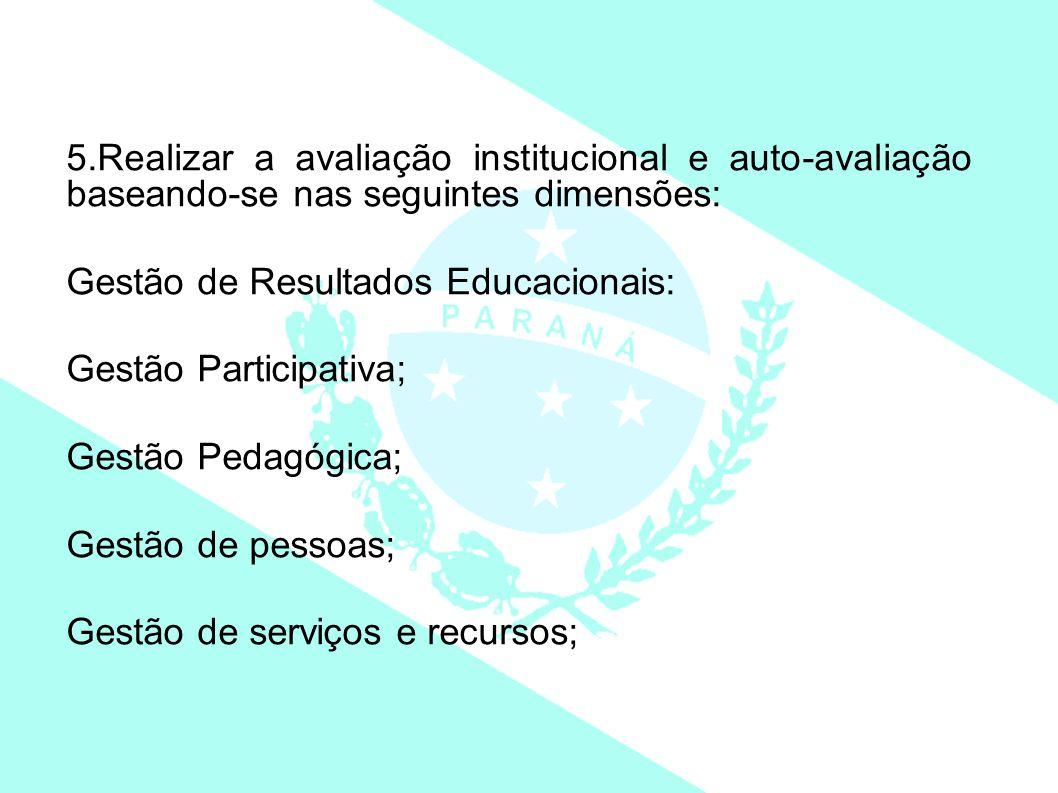 Gestão de Resultados Educacionais: Gestão Participativa;