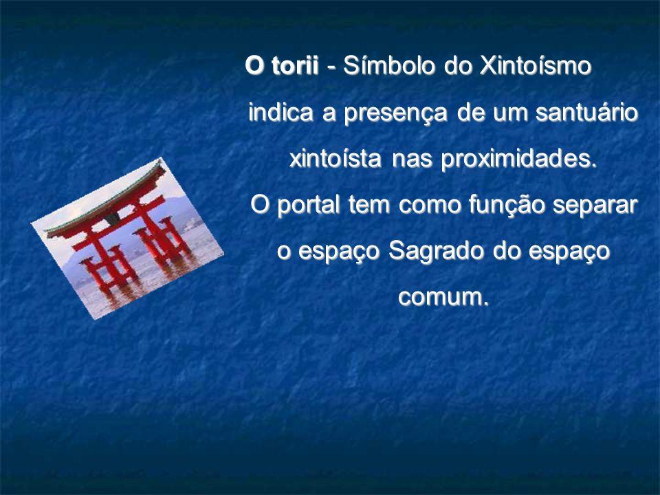 O torii - Símbolo do Xintoísmo
