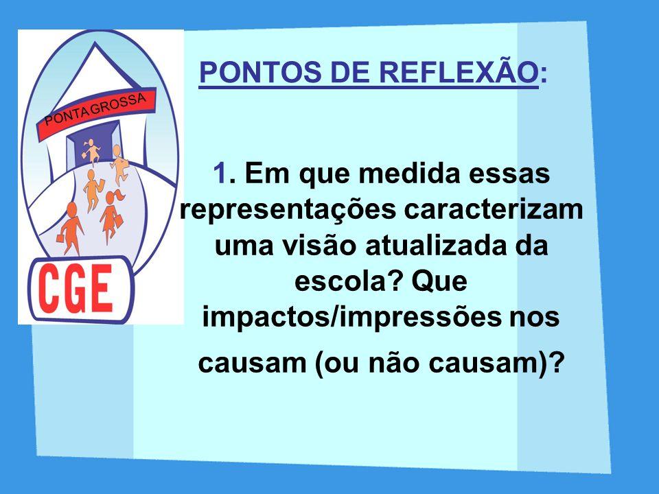 PONTOS DE REFLEXÃO: PONTA GROSSA.