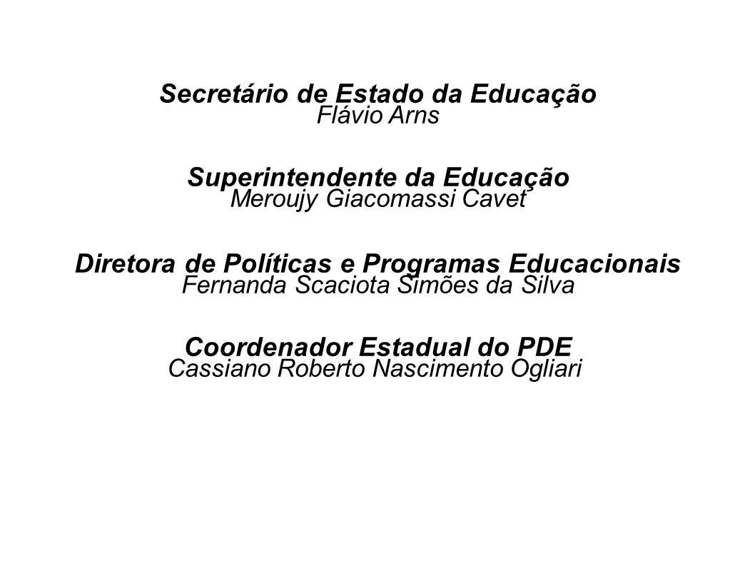 Secretário de Estado da Educação