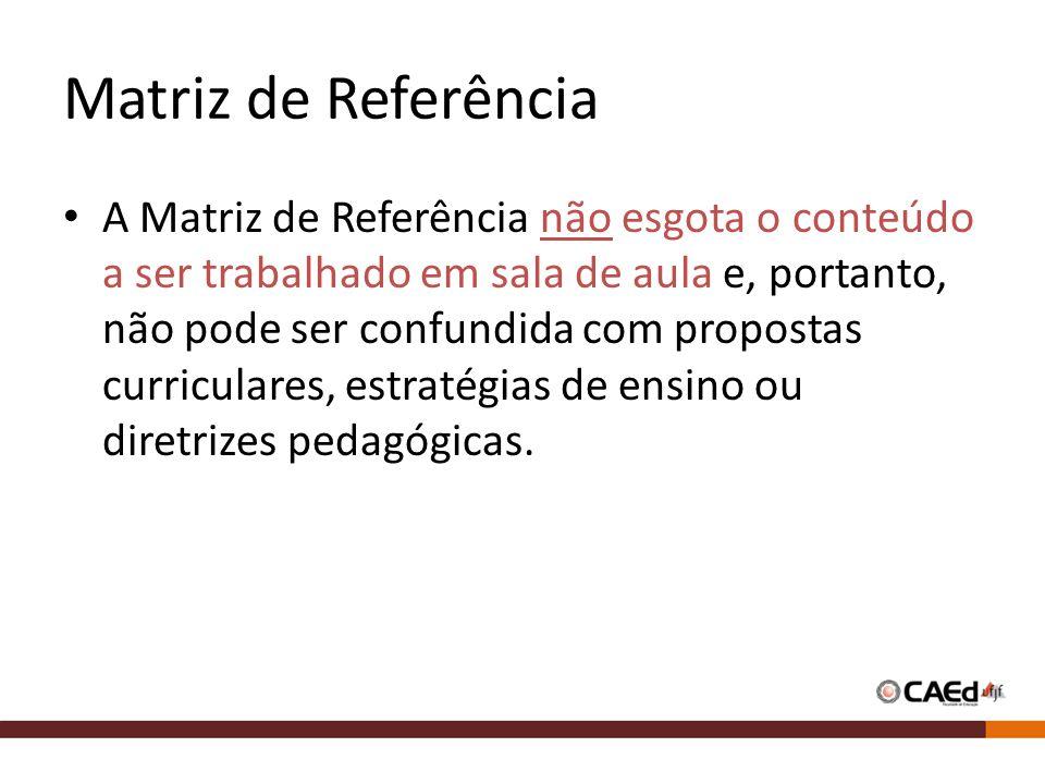 Matriz de Referência