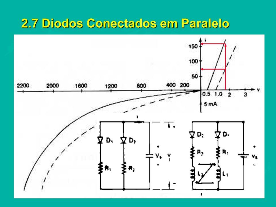 2.7 Diodos Conectados em Paralelo